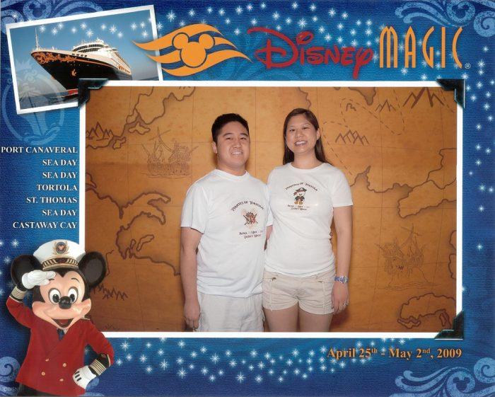 Disney Magic Welcome Aboard Photo - April 2009