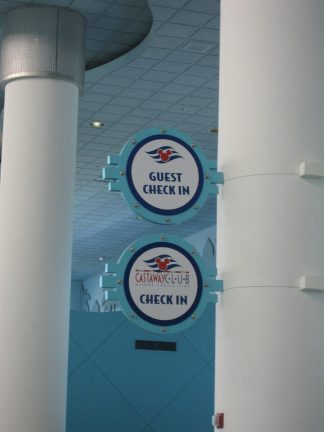 First-time Guest & Castaway Club Check-in