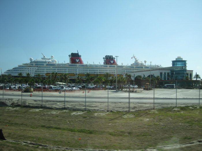 Disney Magic docked at Port Canaveral