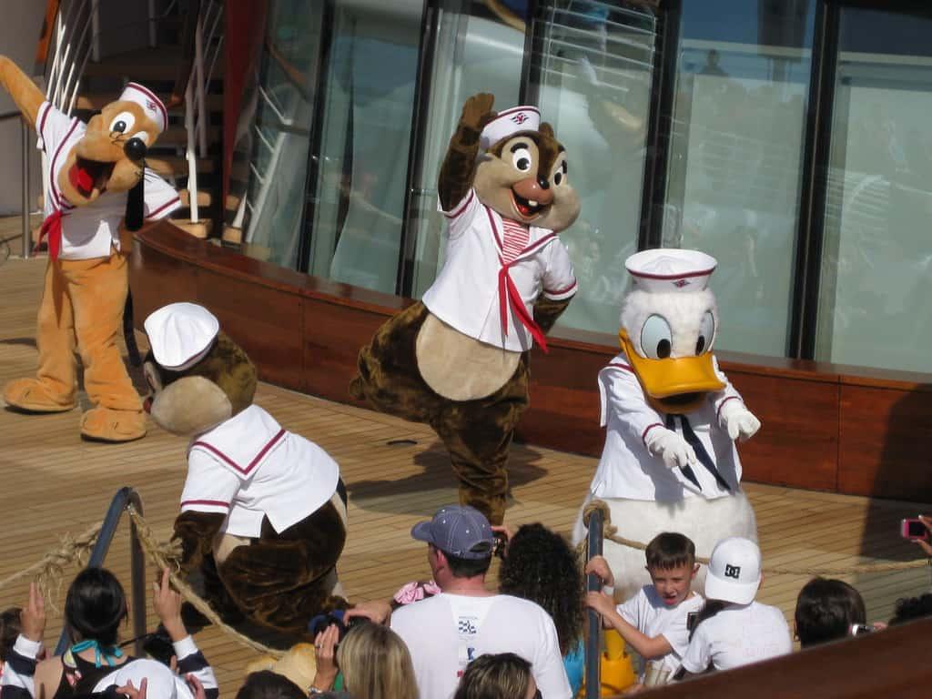 Disney Magic Sailaway Party