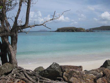 Cinnamon Bay Beach on St. John