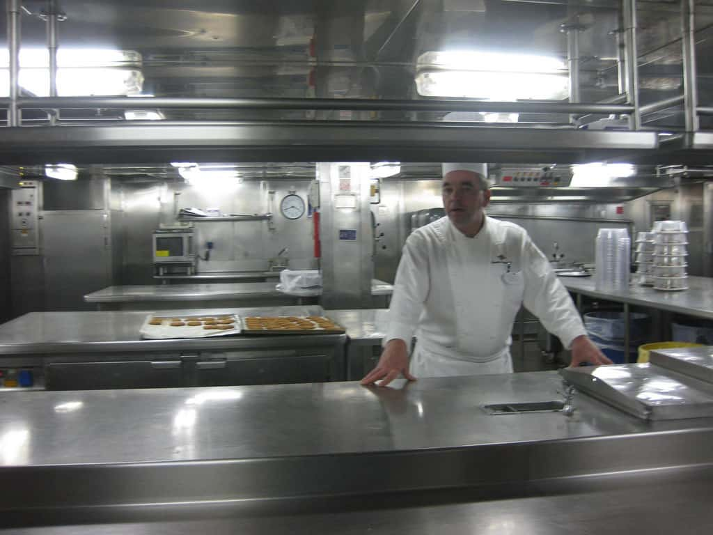 Disney Magic Galley Tour - Pastry Station