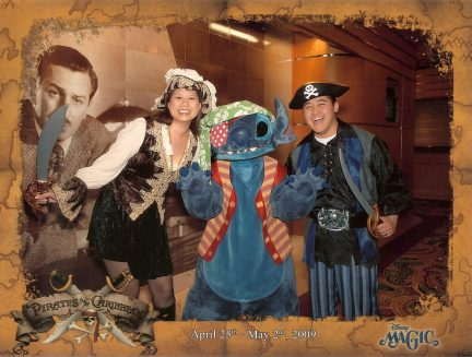 Pirate Stitch at Pirate Night